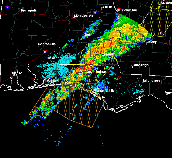 Radar Image for Severe Thunderstorms near Jacob City, FL at 4/13/2020 2:25 AM CDT