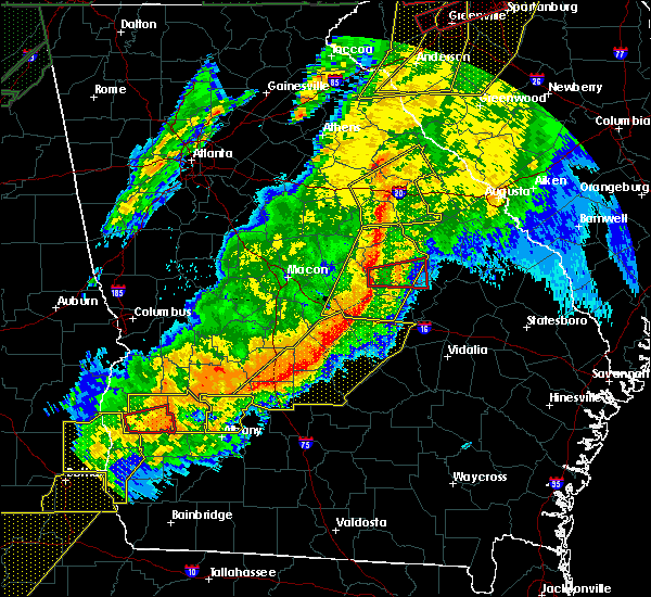 Radar Image for Severe Thunderstorms near Davisboro, GA at 4/13/2020 4:06 AM EDT