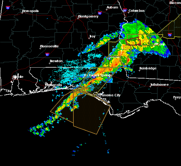 Radar Image for Severe Thunderstorms near Jacob City, FL at 4/13/2020 3:12 AM CDT