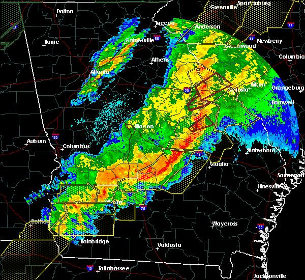 Radar Image for Severe Thunderstorms near Davisboro, GA at 4/13/2020 4:26 AM EDT