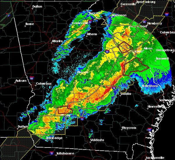 Radar Image for Severe Thunderstorms near Pitts, GA at 4/13/2020 4:49 AM EDT