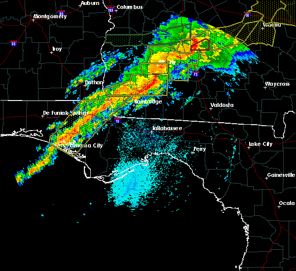 Radar Image for Severe Thunderstorms near Climax, GA at 4/13/2020 4:07 AM CDT
