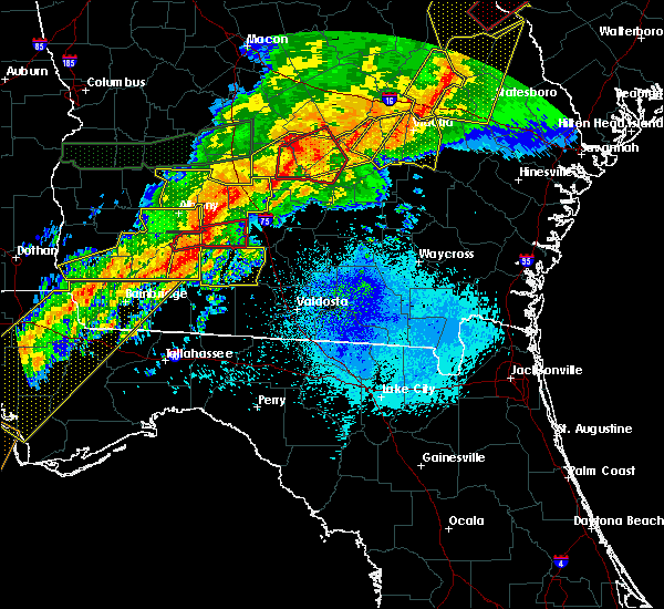 Radar Image for Severe Thunderstorms near Fitzgerald, GA at 4/13/2020 5:24 AM EDT
