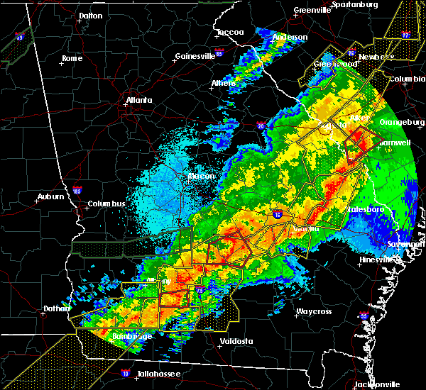 Radar Image for Severe Thunderstorms near Chauncey, GA at 4/13/2020 5:31 AM EDT