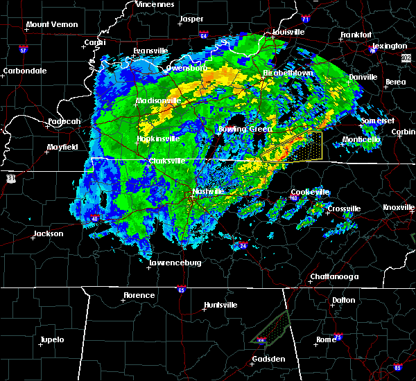 Radar Image for Severe Thunderstorms near Marrowbone, KY at 4/13/2020 4:38 AM CDT