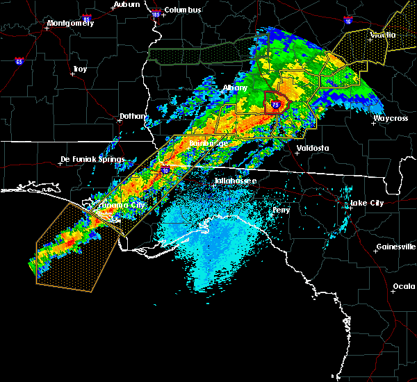 Radar Image for Severe Thunderstorms near Climax, GA at 4/13/2020 5:55 AM EDT