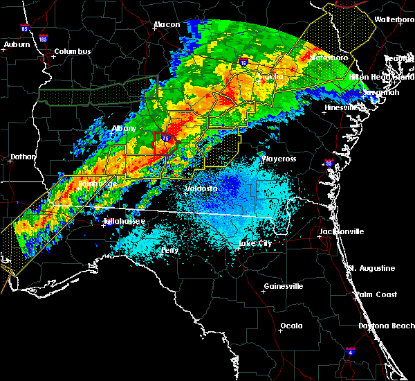 Radar Image for Severe Thunderstorms near Ocilla, GA at 4/13/2020 5:55 AM EDT