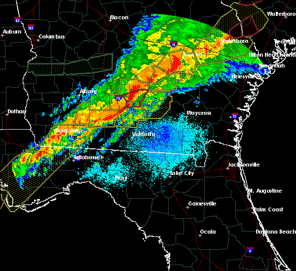 Radar Image for Severe Thunderstorms near Ocilla, GA at 4/13/2020 6:06 AM EDT