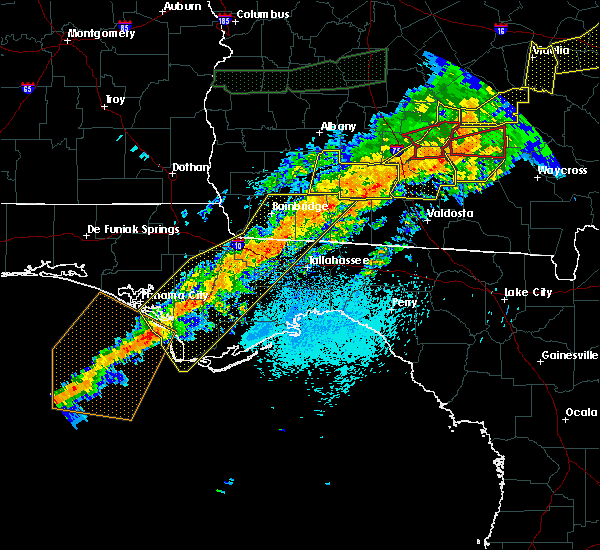 Radar Image for Severe Thunderstorms near Climax, GA at 4/13/2020 6:30 AM EDT