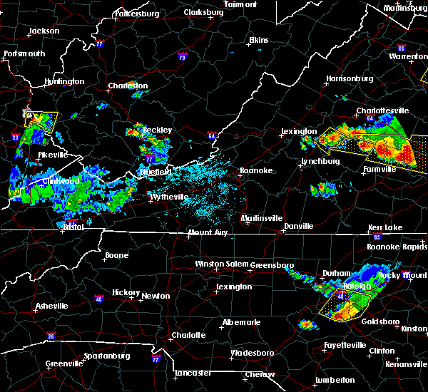 Radar Image for Severe Thunderstorms near Arrington, VA at 6/25/2015 9:39 PM EDT
