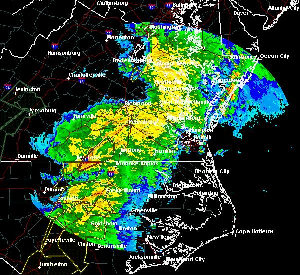 Radar Image for Severe Thunderstorms near Brodnax, VA at 4/13/2020 8:12 AM EDT