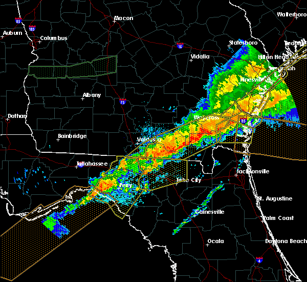 Radar Image for Severe Thunderstorms near Fargo, GA at 4/13/2020 8:57 AM EDT