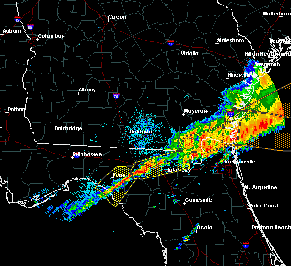 Radar Image for Severe Thunderstorms near Lake City, FL at 4/13/2020 10:15 AM EDT