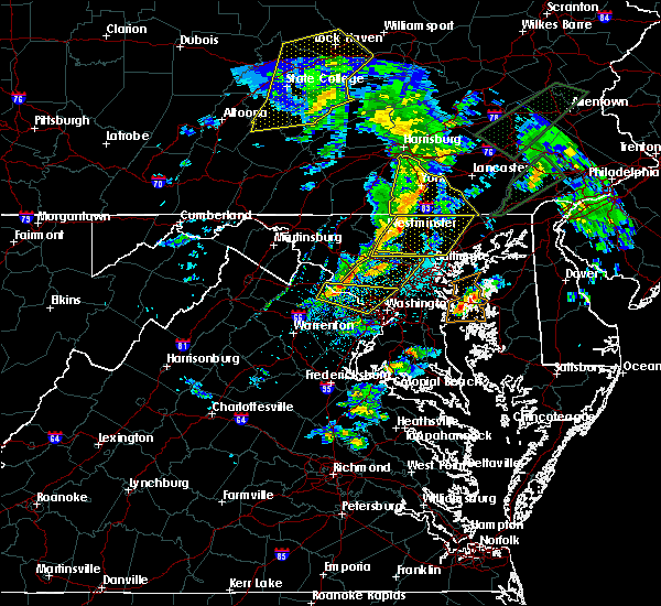 Radar Image for Severe Thunderstorms near Yorkana, PA at 4/13/2020 2:05 PM EDT