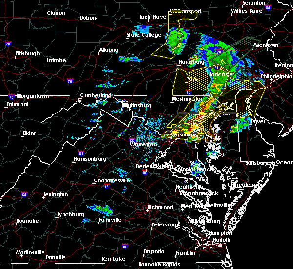 Radar Image for Severe Thunderstorms near Fairwood, MD at 4/13/2020 2:49 PM EDT