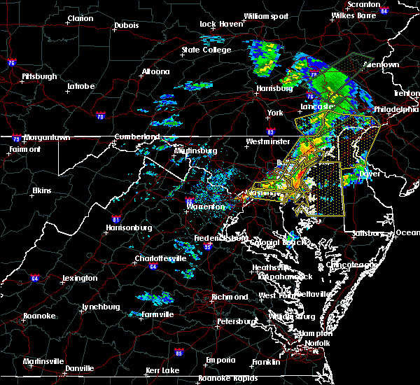 Radar Image for Severe Thunderstorms near Lake Shore, MD at 4/13/2020 3:01 PM EDT
