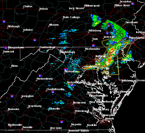 Radar Image for Severe Thunderstorms near Fairwood, MD at 4/13/2020 3:11 PM EDT