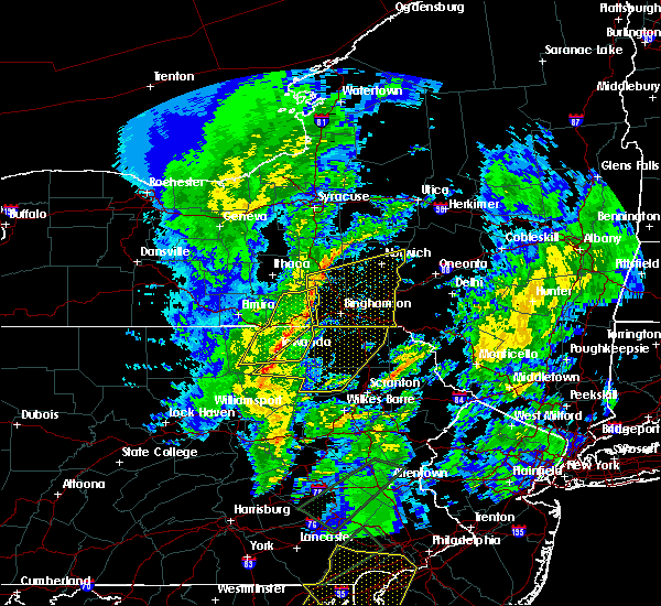 Radar Image for Severe Thunderstorms near Friendsville, PA at 4/13/2020 3:13 PM EDT