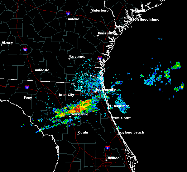 Radar Image for Severe Thunderstorms near Penney Farms, FL at 4/13/2020 4:20 PM EDT