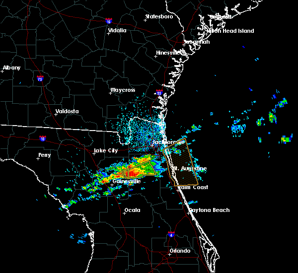 Radar Image for Severe Thunderstorms near Penney Farms, FL at 4/13/2020 4:32 PM EDT