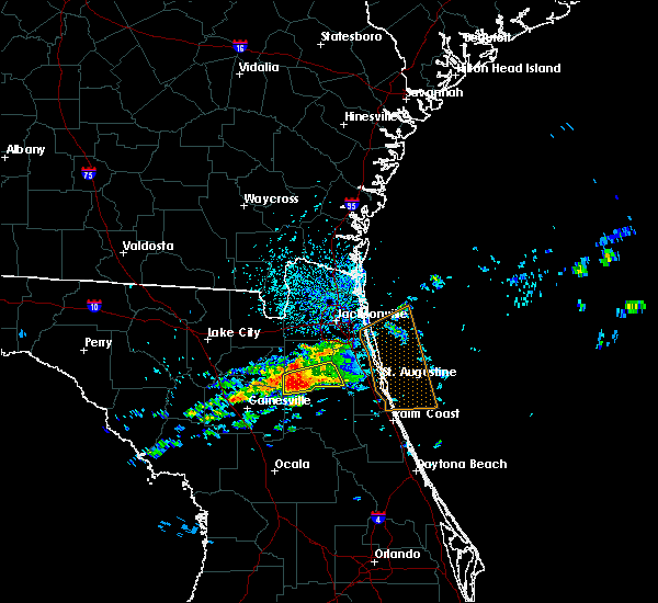 Radar Image for Severe Thunderstorms near Penney Farms, FL at 4/13/2020 4:35 PM EDT