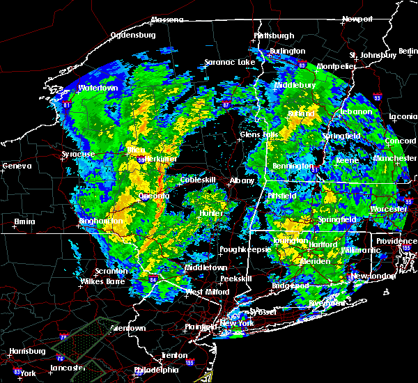 Radar Image for Severe Thunderstorms near Altamont, NY at 4/13/2020 4:48 PM EDT