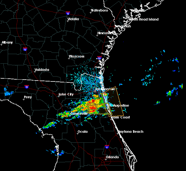 Radar Image for Severe Thunderstorms near Penney Farms, FL at 4/13/2020 4:52 PM EDT