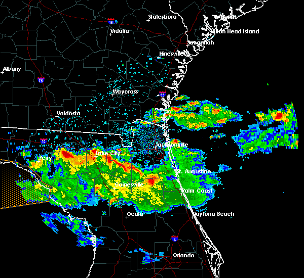 Radar Image for Severe Thunderstorms near World Golf Village, FL at 4/14/2020 9:05 AM EDT