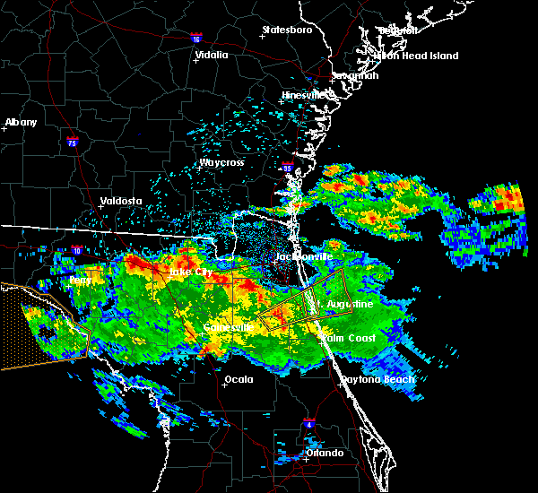 Radar Image for Severe Thunderstorms near World Golf Village, FL at 4/14/2020 9:19 AM EDT