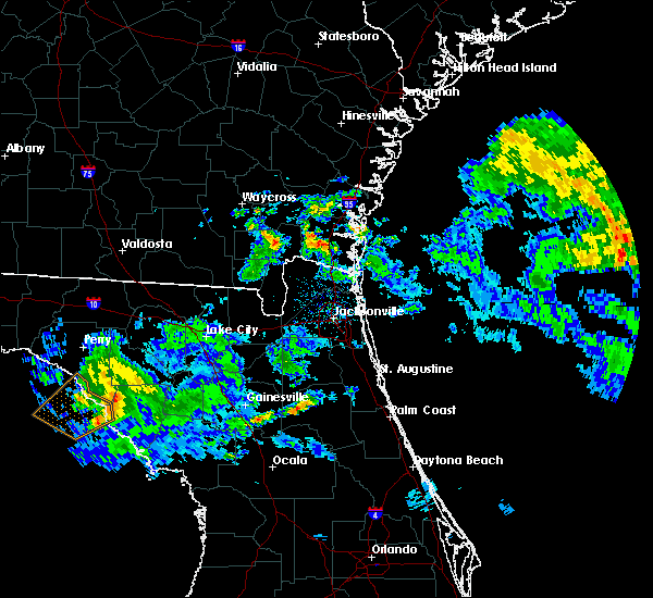 Radar Image for Severe Thunderstorms near Interlachen, FL at 4/14/2020 12:40 PM EDT