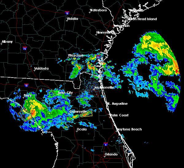 Radar Image for Severe Thunderstorms near Interlachen, FL at 4/14/2020 12:46 PM EDT
