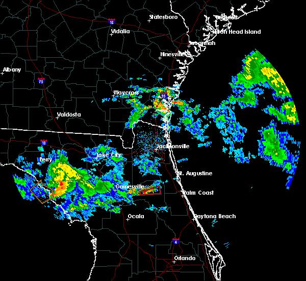 Radar Image for Severe Thunderstorms near Interlachen, FL at 4/14/2020 12:59 PM EDT