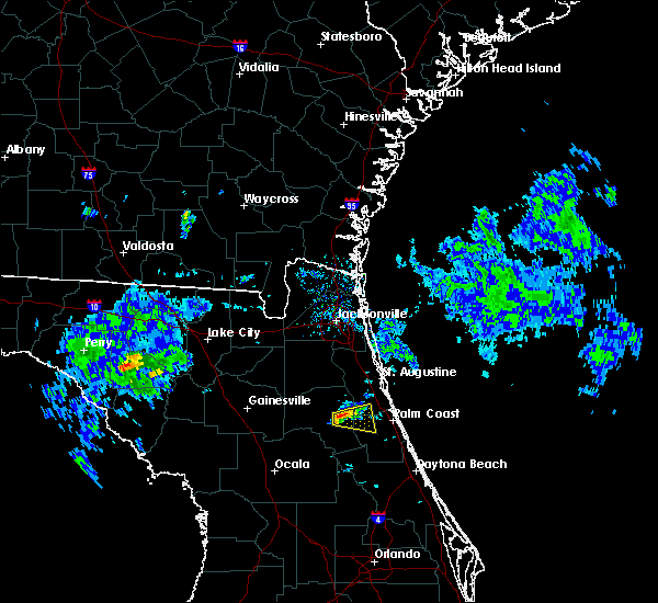 Radar Image for Severe Thunderstorms near Flagler Estates, FL at 4/14/2020 4:09 PM EDT