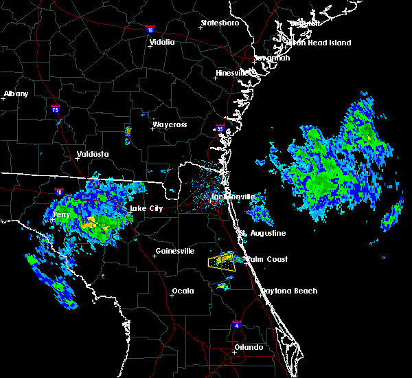 Radar Image for Severe Thunderstorms near Flagler Estates, FL at 4/14/2020 4:18 PM EDT