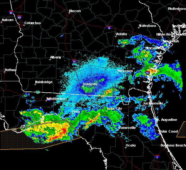 Radar Image for Severe Thunderstorms near Cross City, FL at 4/14/2020 9:02 PM EDT