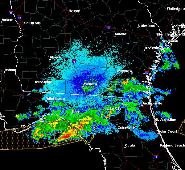 Radar Image for Severe Thunderstorms near Cross City, FL at 4/14/2020 9:44 PM EDT