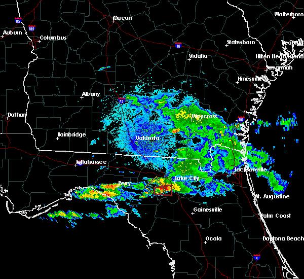 Radar Image for Severe Thunderstorms near Lake City, FL at 4/15/2020 2:47 AM EDT