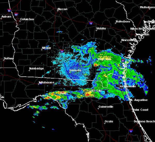 Radar Image for Severe Thunderstorms near Lake City, FL at 4/15/2020 3:05 AM EDT