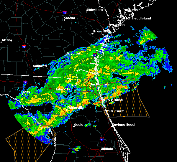 Radar Image for Severe Thunderstorms near Flagler Estates, FL at 4/15/2020 12:48 PM EDT