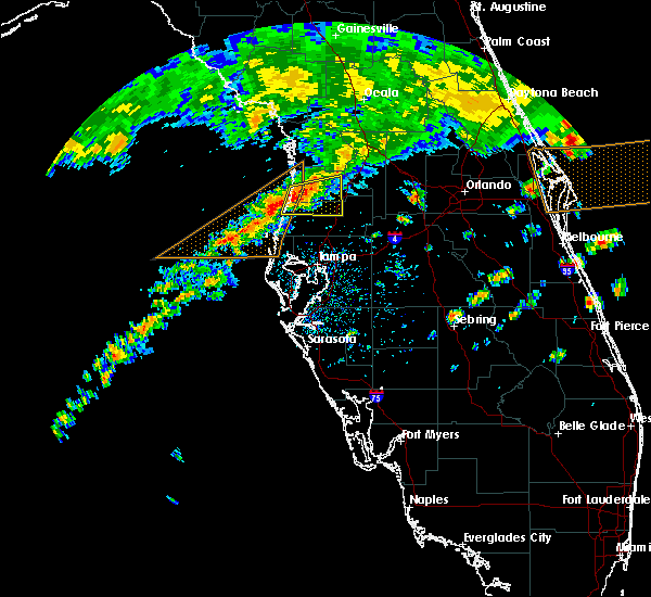 Radar Image for Severe Thunderstorms near South Brooksville, FL at 4/15/2020 3:33 PM EDT