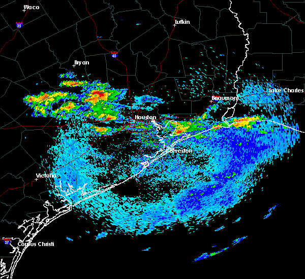 Radar Image for Severe Thunderstorms near Houston, TX at 4/18/2020 3:38 PM CDT