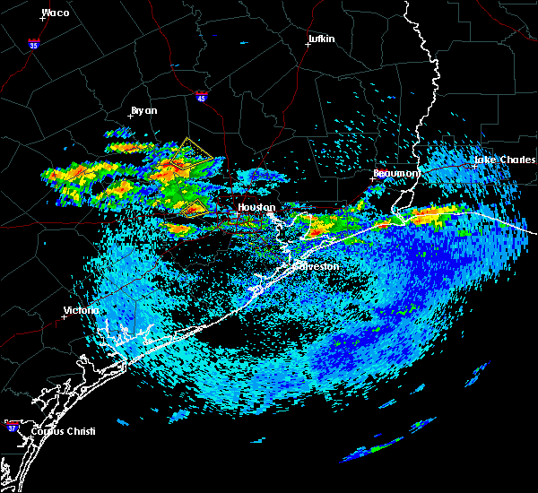 Radar Image for Severe Thunderstorms near Montgomery, TX at 4/18/2020 3:43 PM CDT