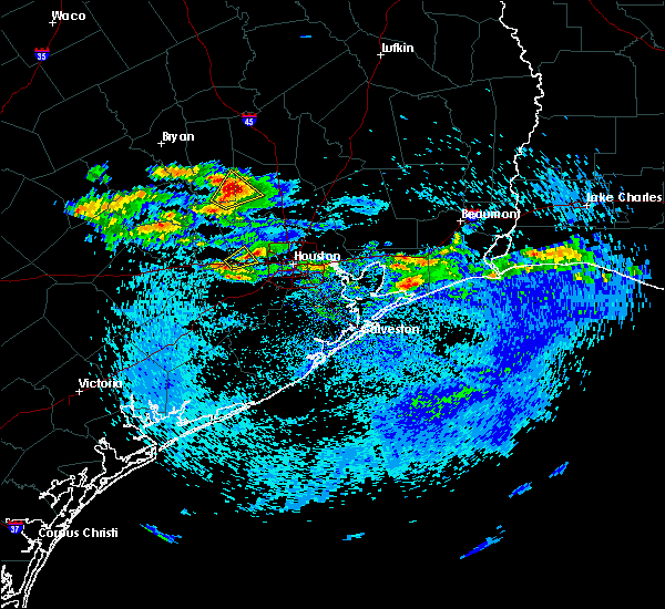 Radar Image for Severe Thunderstorms near Jersey Village, TX at 4/18/2020 3:57 PM CDT