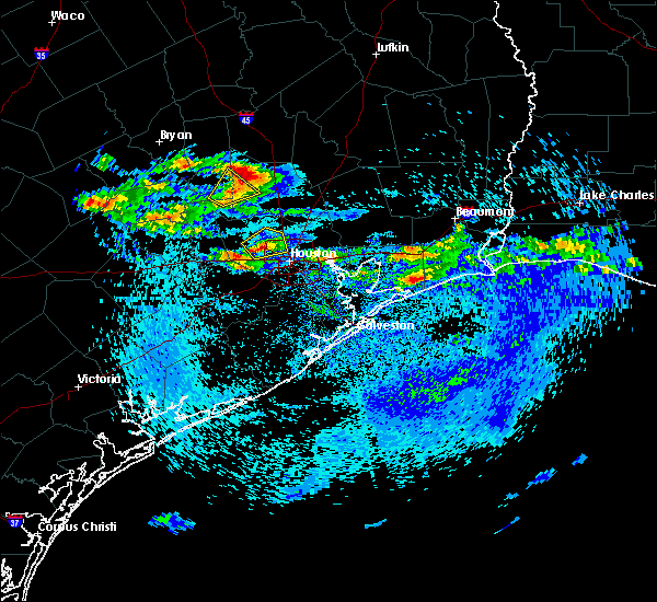 Radar Image for Severe Thunderstorms near Conroe, TX at 4/18/2020 4:09 PM CDT
