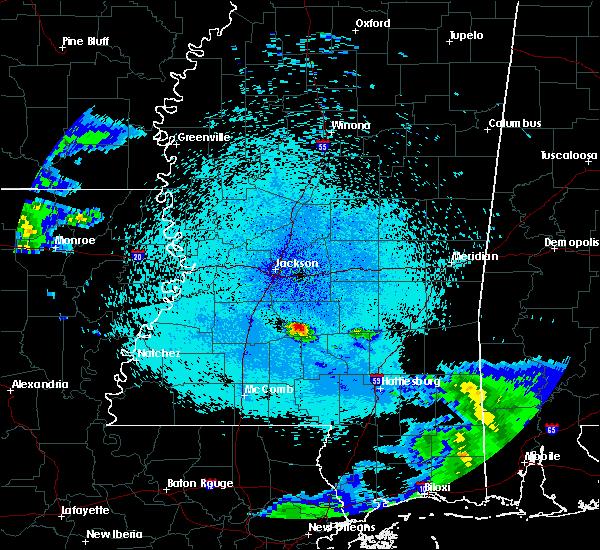 Radar Image for Severe Thunderstorms near Polkville, MS at 4/18/2020 11:31 PM CDT