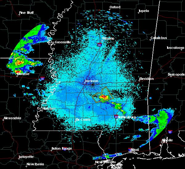 Radar Image for Severe Thunderstorms near Polkville, MS at 4/18/2020 11:53 PM CDT