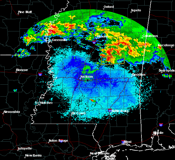 Radar Image for Severe Thunderstorms near Pearl River, MS at 4/19/2020 3:21 AM CDT