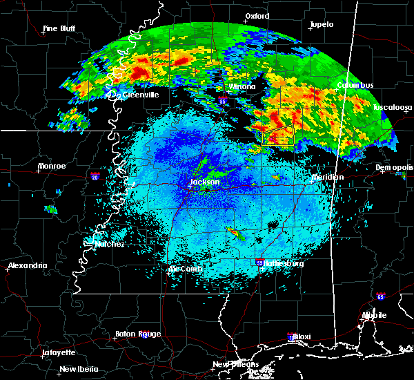 Radar Image for Severe Thunderstorms near Pearl River, MS at 4/19/2020 3:35 AM CDT