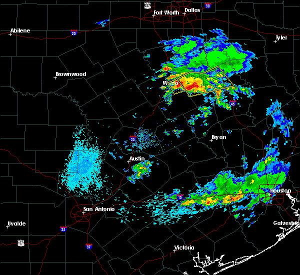 Radar Image for Severe Thunderstorms near Riesel, TX at 4/19/2020 8:37 AM CDT