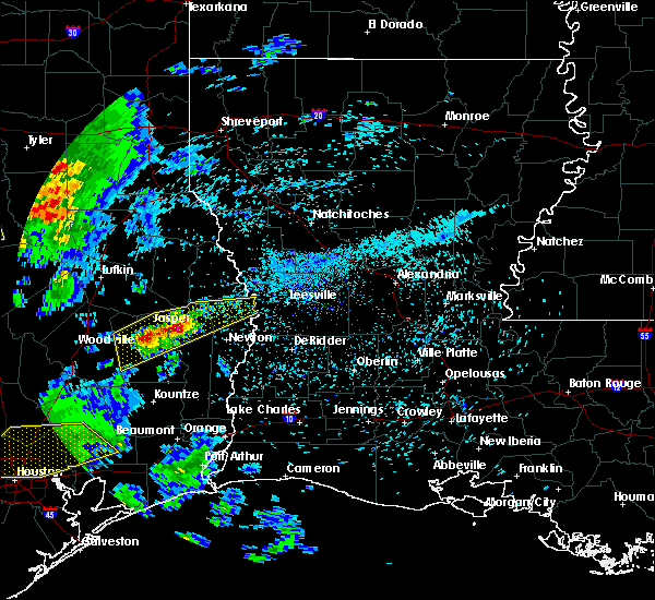 Radar Image for Severe Thunderstorms near Browndell, TX at 4/19/2020 9:51 AM CDT